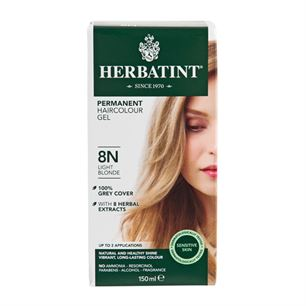 Hårfarve 8N Light Blonde Herbatint
