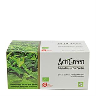 ActiGreen Original Green Tea Powder 40 breve øko