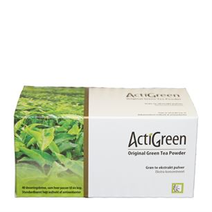 ActiGreen Original Green Tea Powder 40 doseringer