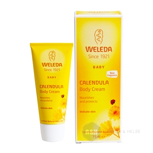 Baby Calendula Body Cream Weleda 75 ml