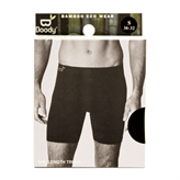 Boxer Shorts Extra Lange Sort str. S Boody