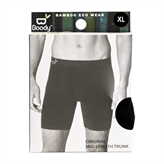 Boxer Shorts Extra Lange Sort str. XL Boody