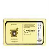 C-Vitamin Syreneutral 750 mg 90 tabletter