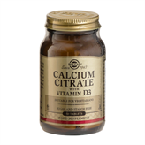 Calcium Citrate with D3 Solgar 60 tabletter