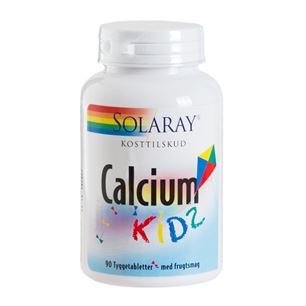 Calcium Kids Tyggetablet Solaray 90 tyggetabletter