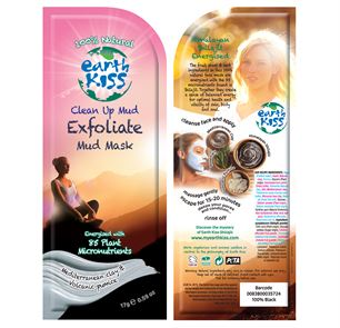 Clean Up Mud Mask Earth Kiss 7th. Heaven 17 g