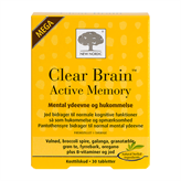 Clear Brain Active Memory 30 tabletter
