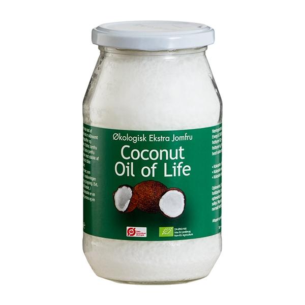 flydende kokosolie