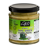 Curry Paste Thai Green glutenfri 180 g økologisk