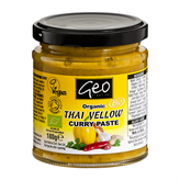 Curry Paste Thai Yellow glutenfri 180 g økologisk