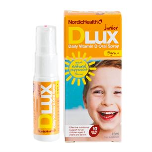 D-vitamin Spray Dlux Junior 10 mcg NordicHealth 15 ml