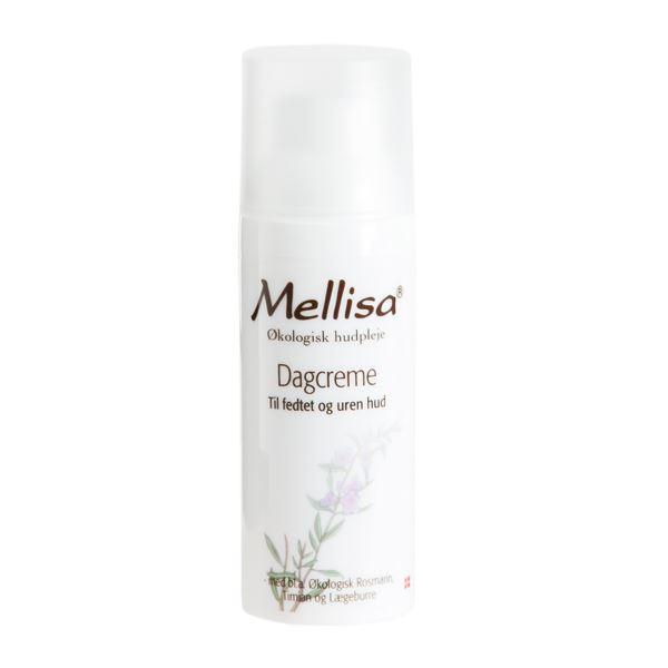 Dagcreme fedtet og uren hud Mellisa 50 ml økologisk