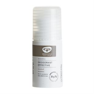 Deodorant Sensitive Effective Neutral 75 ml økologisk