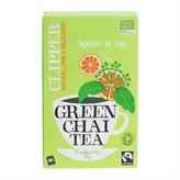 Green Chai Tea Clipper Spice it Up 20 breve økologisk