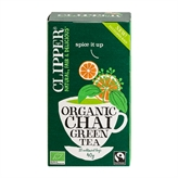 Green Tea Chai Clipper 20 breve økologisk