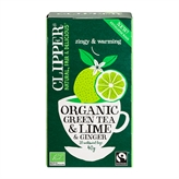 Green Tea & Lime & Ginger Clipper 20 breve økologisk