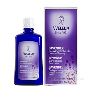 Bath Milk Lavender Relaxing Weleda 200 ml