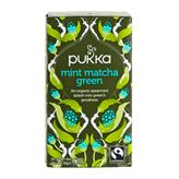 Mint Matcha Green Fairtrade Pukka 20 breve økologisk