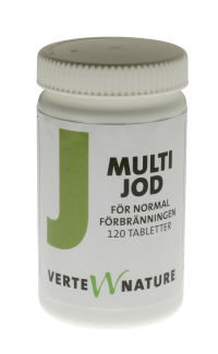 Multi Jod Verte Nature 120 tabletter