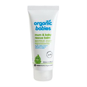 Mum and Baby Rescue Balm Scent Free 100 ml økologisk