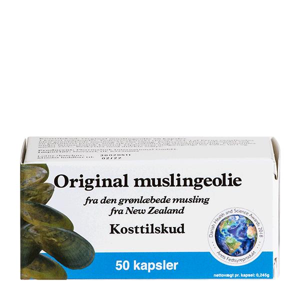 Frisk Muslingeolie Original 50 kapsler RJ-49