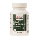 Natural D-Mannose 500 mg 60 vegetabilske kapsler