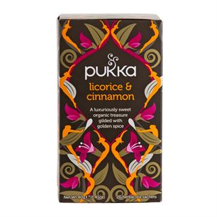 Pukka Licorice and Cinnamon 20 breve økologisk