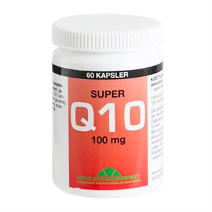 Q10 Super med Lecitin 100 mg 60 kapsler