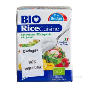 Risfløde Rice Cuisine vegetabilsk The Bridge 200 ml økologisk
