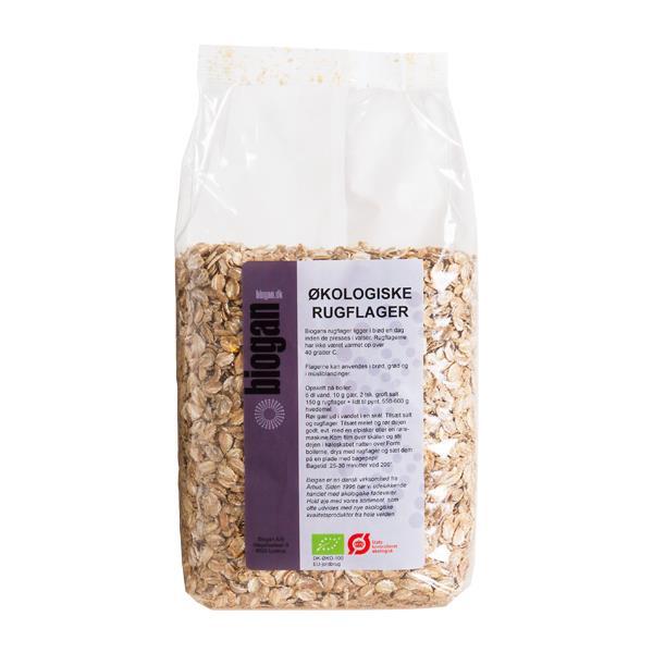 Rugflager Biogan 500 G økologisk