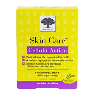 Skin Care Cellufit Action 60 tabletter